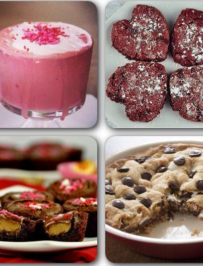 Valentine's Day Easy Recipe Dessert Ideas.
