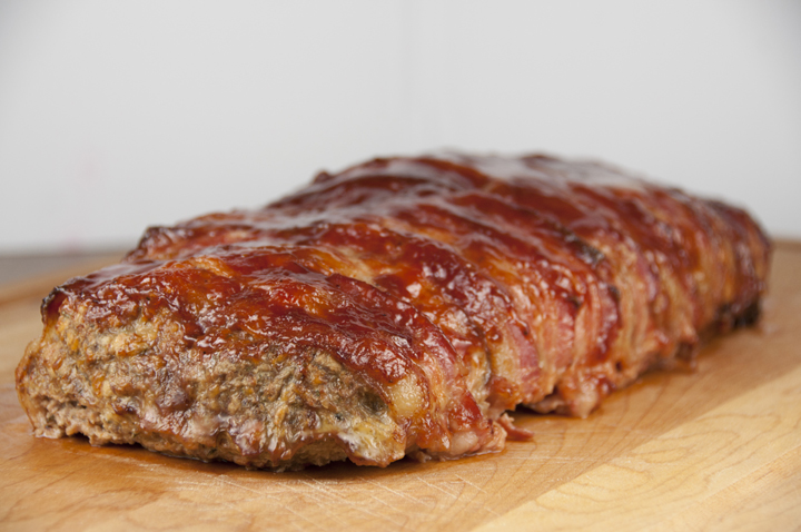 Bacon Wrapped Bbq Meatloaf