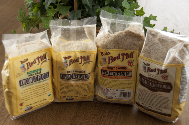Bob's Red Mill Gluten Free Nut Flour Review and Giveaway