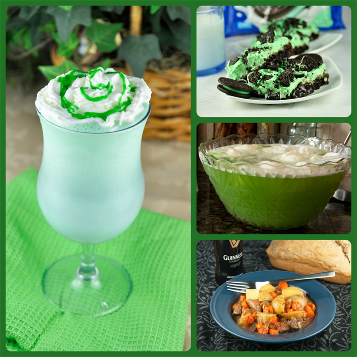 Green St. Patrick's Day Recipes