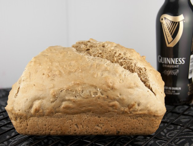 The Best Guinness Beer Bread Recipe for chili night or for St. Patrick's Day.