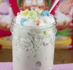 The Best Lucky Charms Dairy Queen Blizzard Ice Cream dessert recipe that is great for St. Patrick's day or any special occasion!