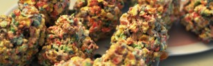Fruity Pebbles Easter Egg dessert recipe for the holidays. Easy and fun for kids!