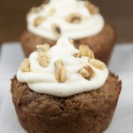 Giant Carrot Cake Cookie Cups