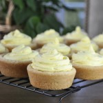 Giant Lemon Mousse Sugar Cookie Cups