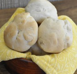 The best easy homemade dinner rolls I have ever made! This recipe came out perfectly fluffy and soft and would be a great side dish.