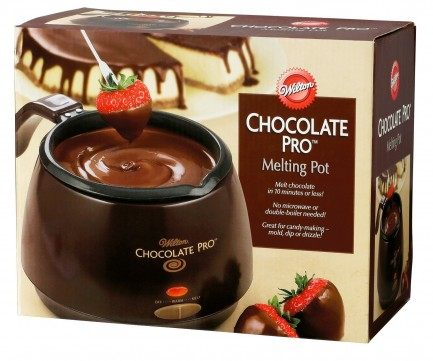 Chocolate Melting Pot for Mother's day gift.