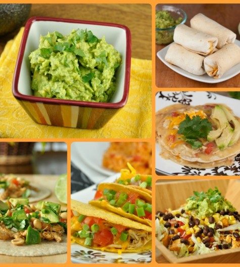 Cinco de Mayo recipe roundup of all Mexican food appetizers and dinners
