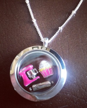 Origami Owl Locket Necklace for Mother's Day gift