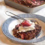 Strawberry Steel Cut Oat Breakfast Bars
