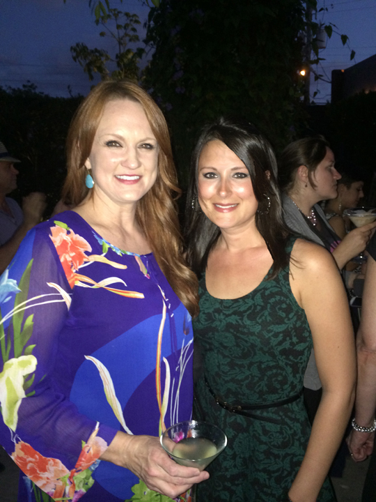 Meeting Ree Drummond, the Pioneer Woman, at BlogHer Food conference in Miami.