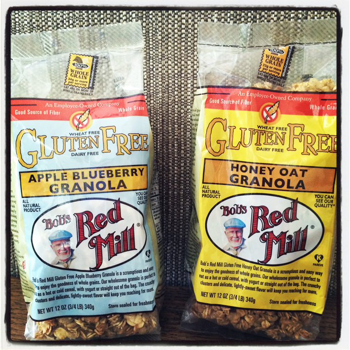 Healthy Gluten Free Bob's Red Mill granola giveaway