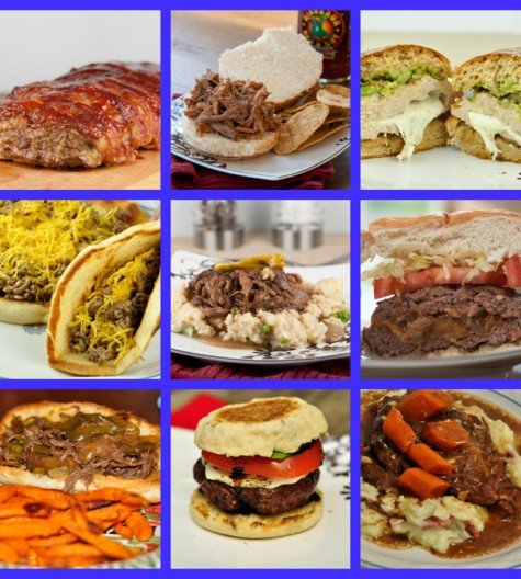 Father's Day Manly Recipe Ideas for grilling or cooking inside.