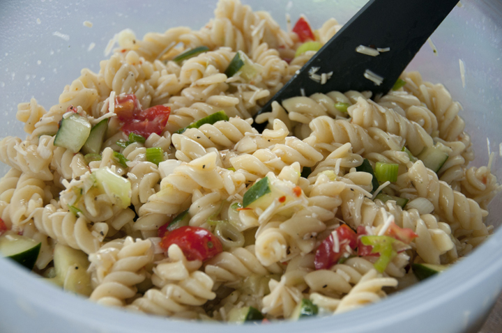 An Easy, Yet Very Delicious Pasta Salad Is The Perfect Side Dish For Any BBQ