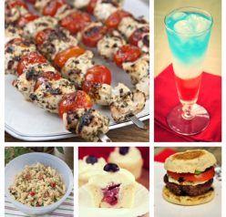 Planning a 4th of July Party or outdoor BBQ? Here are my best and easiest recipe ideas: drinks, sides, main course, and dessert!