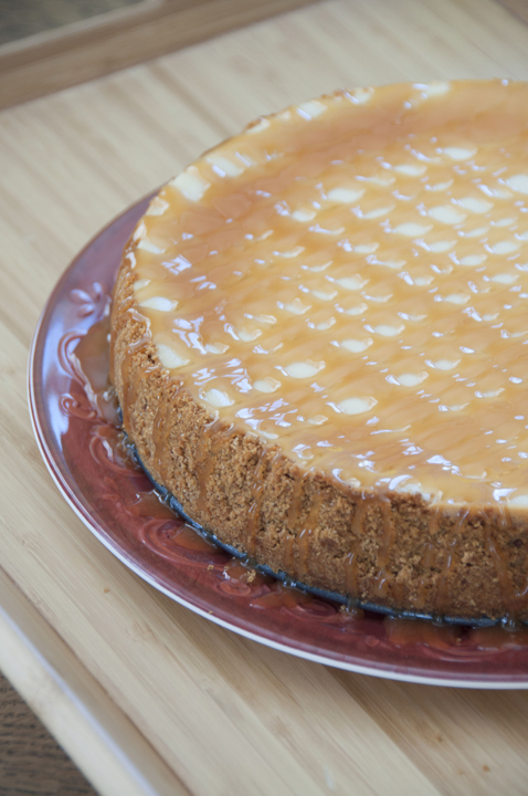 This decadent Caramel Macchiato Cheesecake is a treat you don't want ...