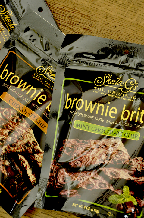Sheila's Brownie Brittle Packages