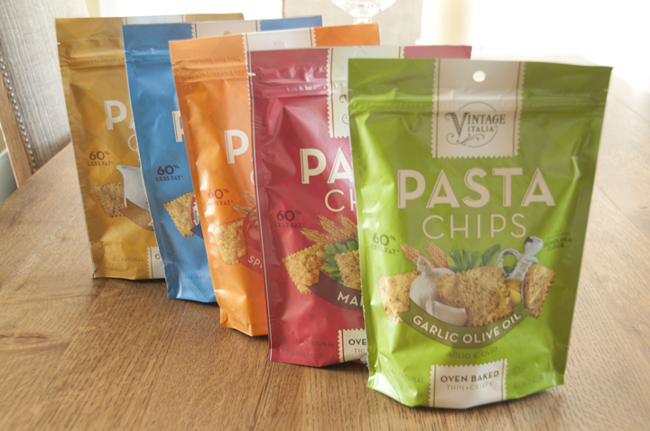 Vintage Italia Pasta Chips Giveaway