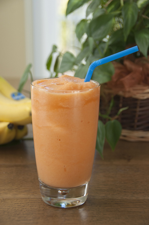 A great tasting healthy smoothie made with fruits and vegetables. This smoothie recipe is so tasty that kids (or adults) will not even know it's good for them.
