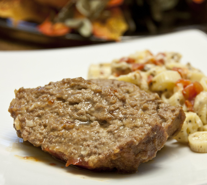 This delicious brown sugar meatloaf is glazed with brown sugar and ketchup for a moist and flavorful weeknight dinner.  Perfect comfort food!