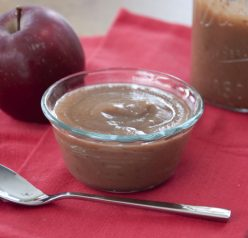 Easy Apple Butter Recipe made right on the stove top.