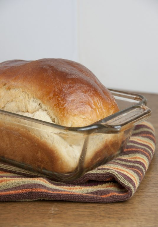 This tender buttermilk bread recipe will be your new best yeast bread. It rises beautifully thanks to the bread flour and the honey adds a slight country sweetness.