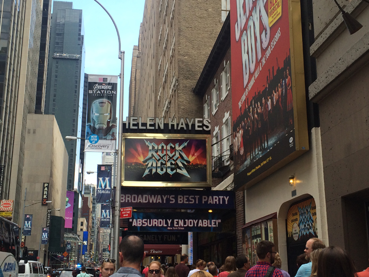 Rock of Ages, Helen Hayes Theater, Broadway Review