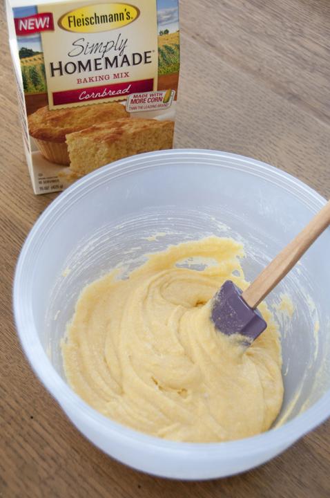 Fleischmann's Simply Bread Corn Bread Mix for Thanksgiving