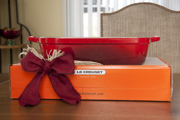 Le Creuset Roasting Pan Giveaway