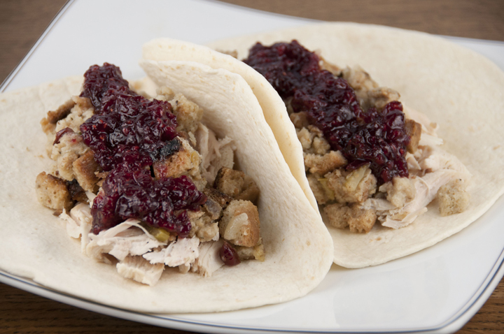This copy-cat Earl of Sandwich recipe uses up those holiday leftovers: slow cooked turkey, stuffing, cranberry sauce, and gravy inside a wrap or your favorite bread.