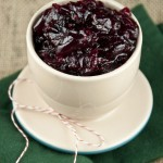 This is a delicious and easy cranberry sauce baked right in the oven with cinnamon and a hint of Orange liqueur - requires no time standing at the stove to make your holidays less stressful!