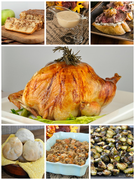My top picks and favorite Thanksgiving recipes for 2014 including amazing appetizers, desserts, main course, and drink ideas.