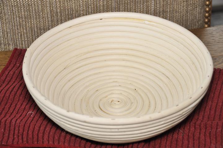"Frieling Brotform 10"" Round Bread Rising Basket"
