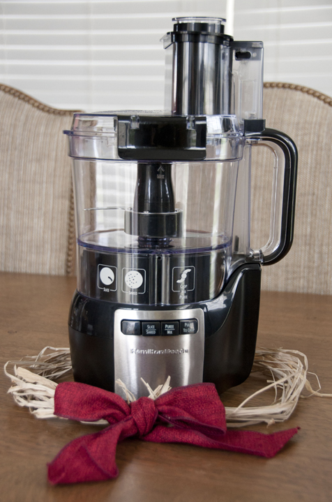 Hamilton Beach Stack and Snap Food Processor Giveaway and Review