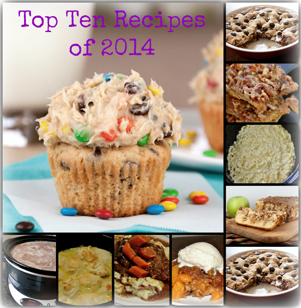 I did some research and gathered the most popular and best recipes on Wishes and Dishes from the year 2014!  These are the favorite recipes that gained the most views, comments and pins throughout the year.