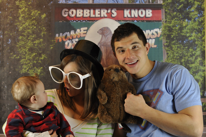 Groundhog Day Party Photo Booth Picture