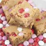 Brown Sugar M&M Blondies
