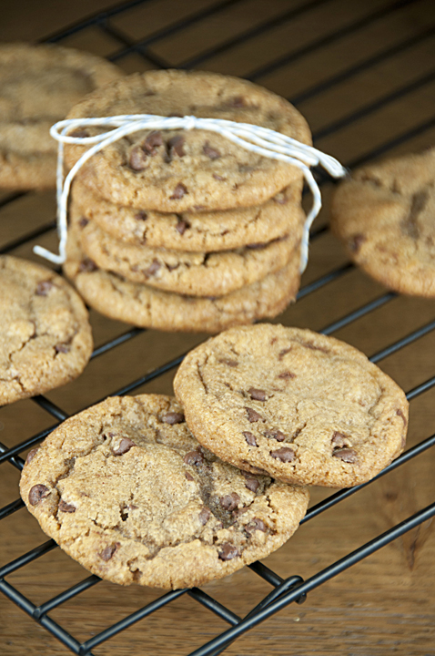Try these delicious Browned Butter Chocolate Chip Cookies for a change of pace. They're made with browned butter, mostly brown sugar, and mini chocolate chips.  This is one of my top three favorite cookie recipes!