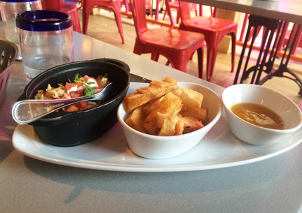 Delicious lunch at Sabor Mexican Restaurant and Tequila Bar on Oasis of the Seas.