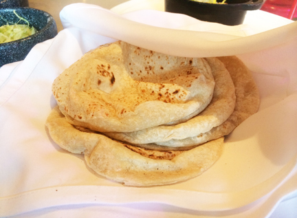 Fresh homemade tortillas at Sabor Mexican Restaurant and Tequila Bar on Oasis of the Seas.