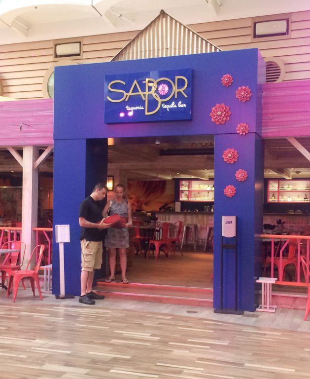 New Sabot Tequila Bar Restaurant on Oasis of the Seas.