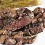 Filet Mignon with Truffled Mushroom Ragout