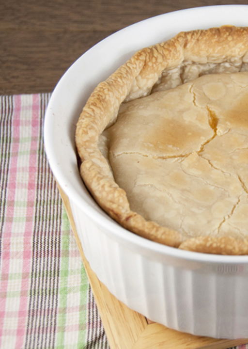 The Best Chicken or Turkey Pot Pie will soon become your favorite dinner  Easy, delicious comfort food that is exactly what pot pie should taste like!