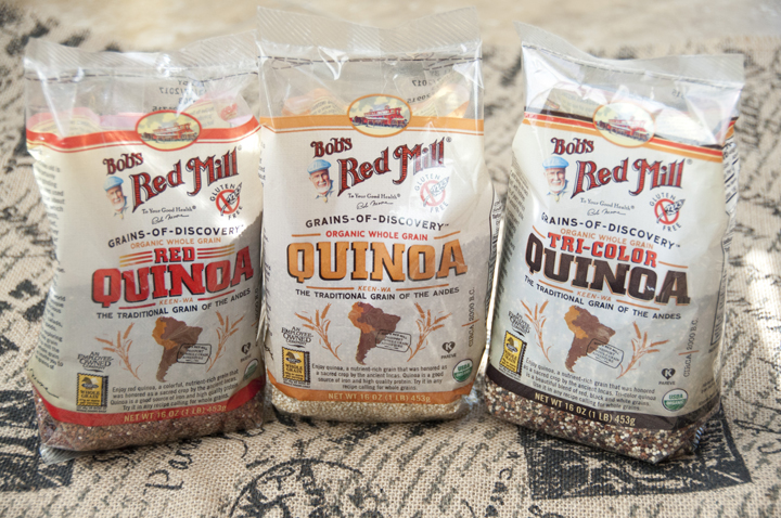 Bob's Red Mill Gluten Free Quinoa Review and Giveaway
