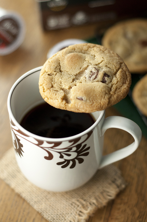 Coffee Chocolate Chip Cookies are a dessert full of chocolate and a touch of brewed coffee mixed in to give them that unique flavor.