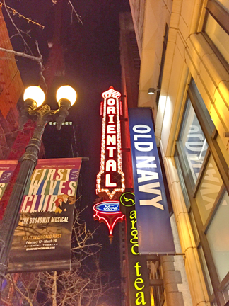 First Wives Club the Musical in Chicago.