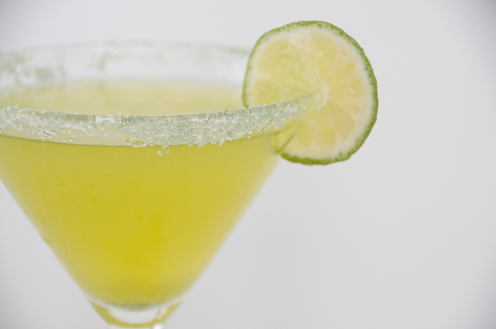 Key Lime Martini recipe that tastes like a slice of key lime pie.