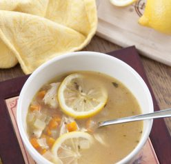 This healthy Lemon Chicken Quinoa Soup is super easy to make and results in an aromatic, savory soup that's perfect for both a spring lunch with the fresh lemon taste or a cold winter's evening.