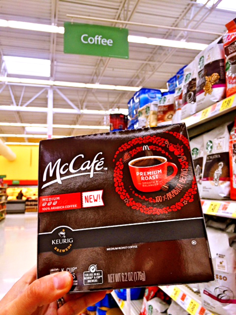 McCafe Coffee Pods at Walmart