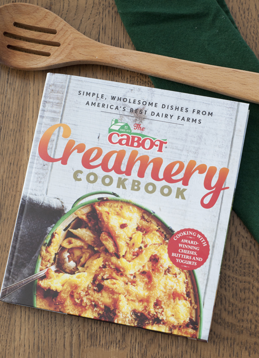 Cabot Creamery Cookbook Review and Giveaway